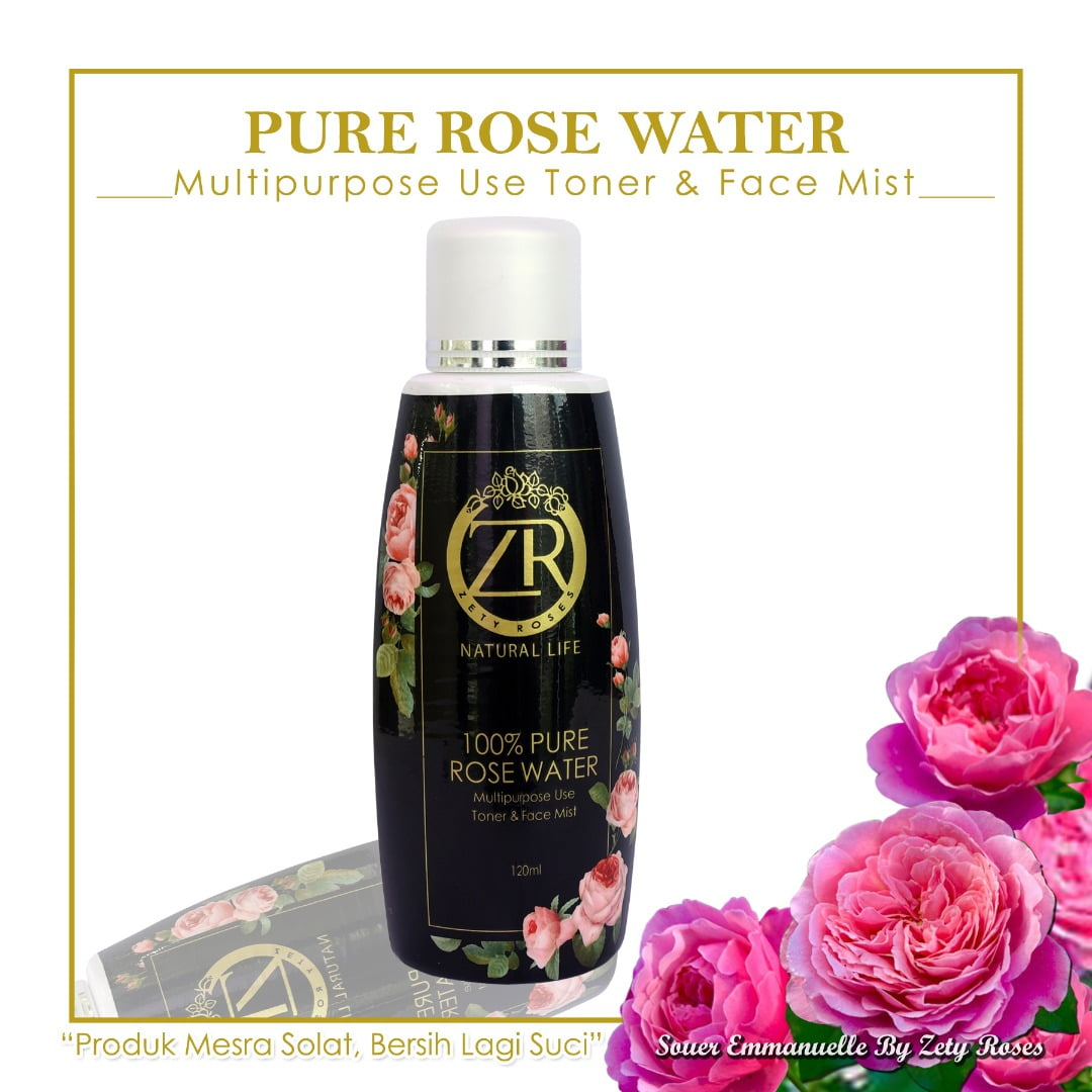 pure rose <br/>water